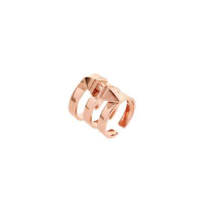 Aleia Short Ring - Rose Gold