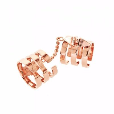 Aleia Long Ring - Rose Gold