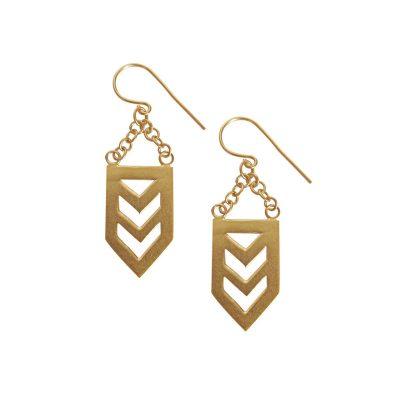 Nishi Gold Earrings