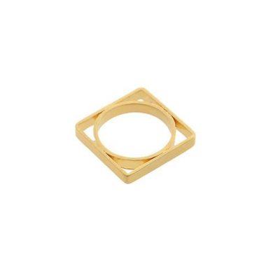 Satori Square Ring - Gold