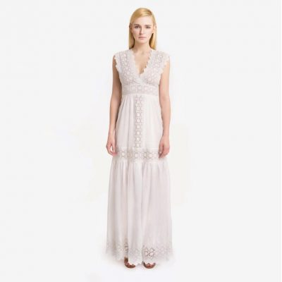 Led By Dreams Eyelet Maxi Dress