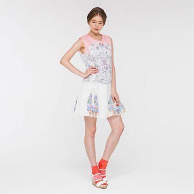 Flora Flare Dress