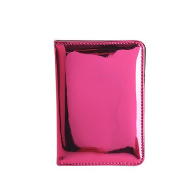 Mirror Passport Holder - Wine