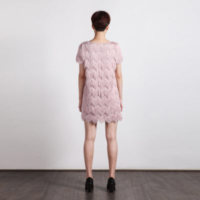 L'oiseau Shift Dress - Pink