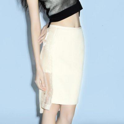 Quinn Panel Organza Skirt
