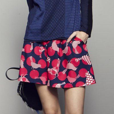 Pink Bird Shorts