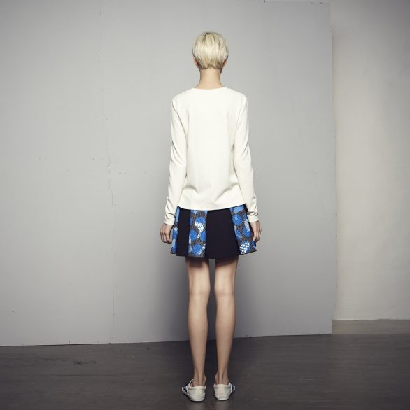 Blue Birds Skirt