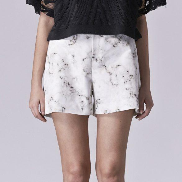 Aki Printed Shorts