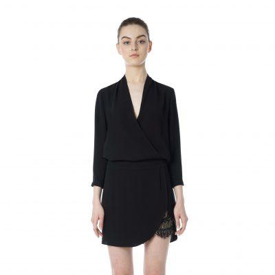Moonshine 3/4 Sleeve Mini Dress