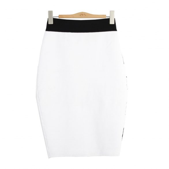 Alice Striped Rib Stitched Skirt