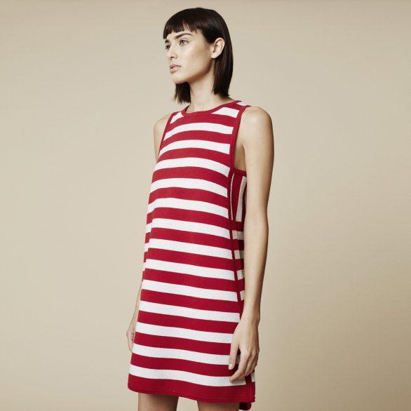 Antigo Striped Sweater Dress