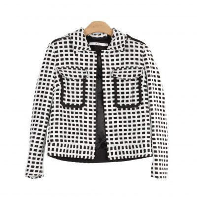 Harvey Mixed Media Moto Jacket