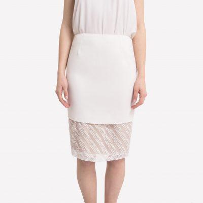 Raindrops Panel Skirt