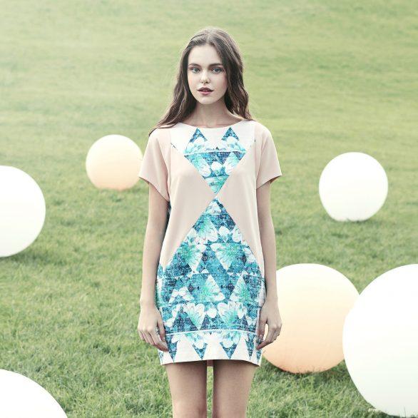 Tri Flo Dress