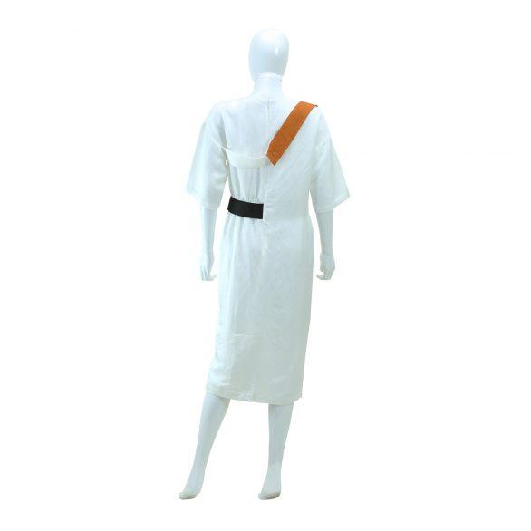 White Mix Pencil Dress