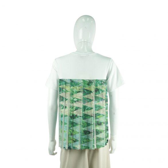 Back Pleats Tee - Ivory