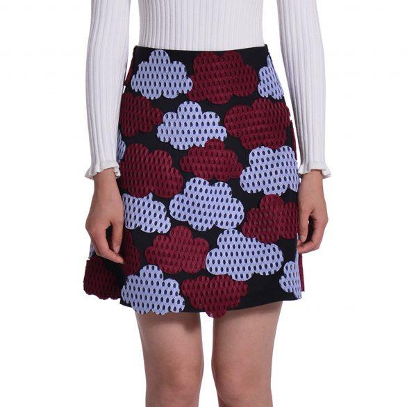 Laura Cloud Neoprene Skirt