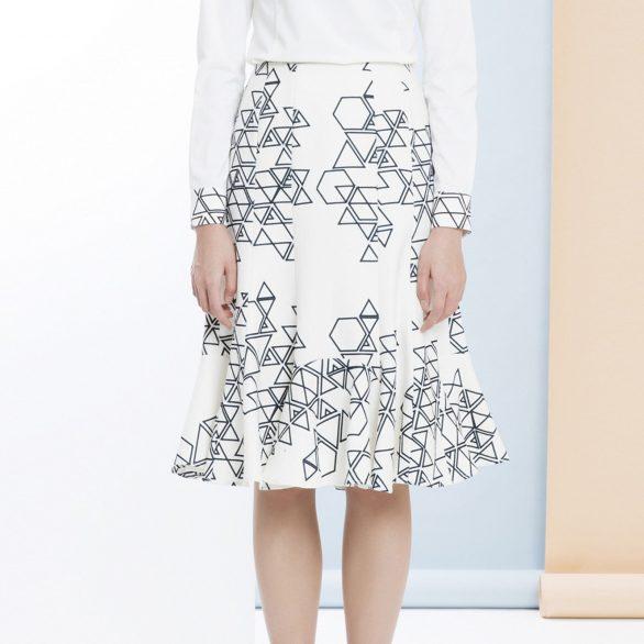 Glass Chip Skirt