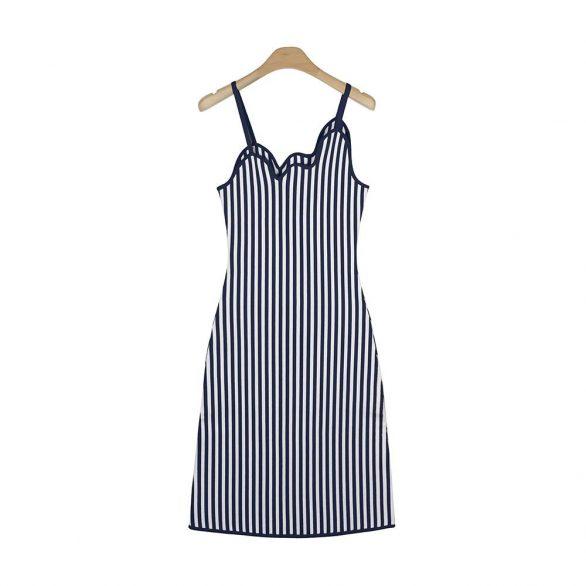 Luna Striped Bodycon Tank Dress