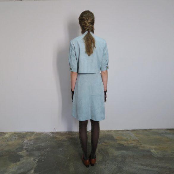 F Button Skirt
