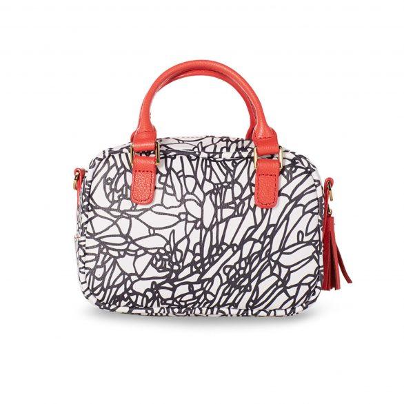 Mini Shoulder Bag - Atienza Black & White
