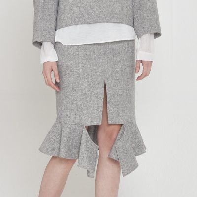 Volume Deconstructed Skirt