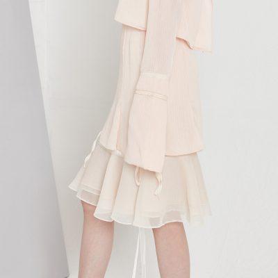 Layered Flounce Skirt