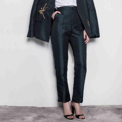 Woven Textured Pants