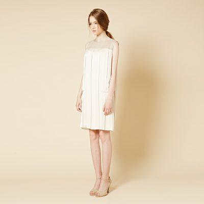 Pleats Swing Dress