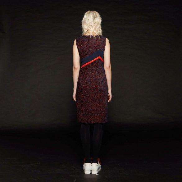 V-neck Dress with Waist Detail