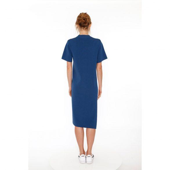 Tiana Colourblocked Pleated Dress with Side Slit