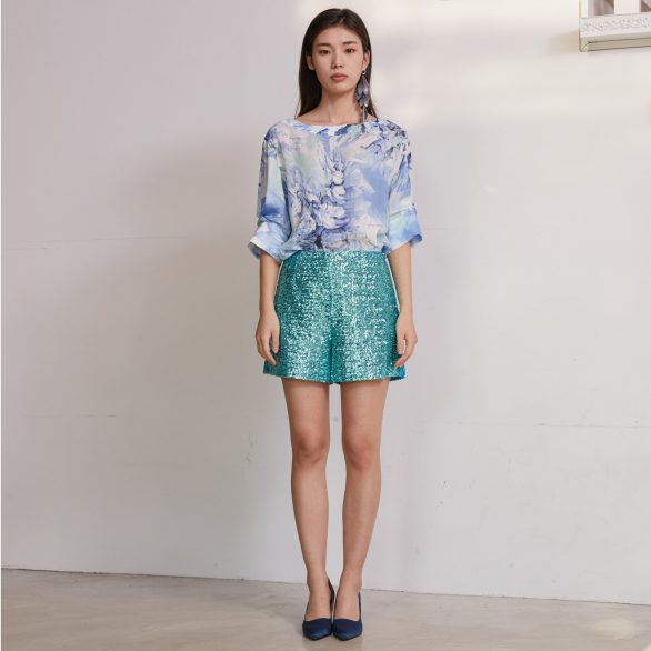 Blue Wing Blouse