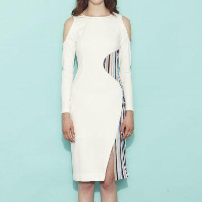 Iris Dress - White