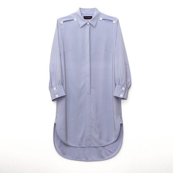 Penelope Cutout Shirt Dress