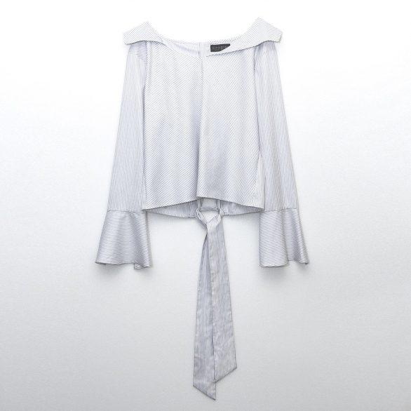 Paloma Poplin Collared Shirt