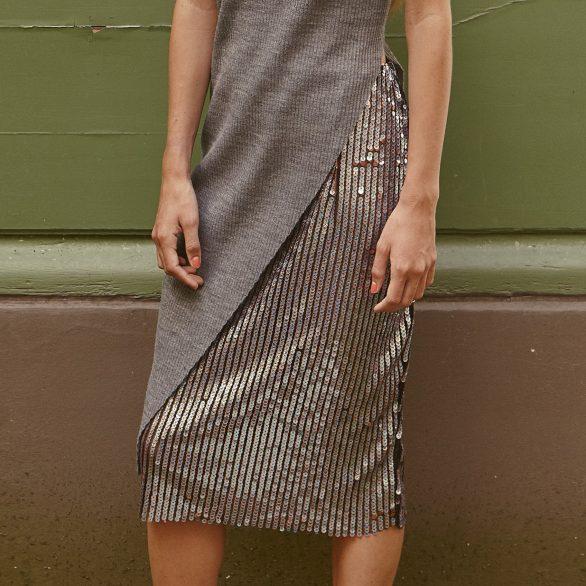 Falling Iris Skirt