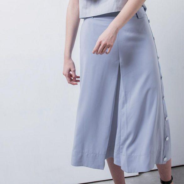 Penelope Bluish Violet Culottes