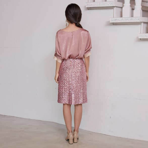 Pink Spangle Skirt