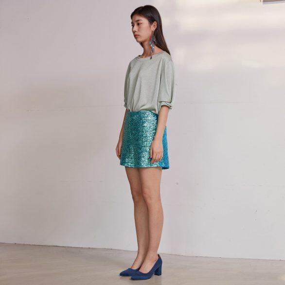 Mint Knit Top