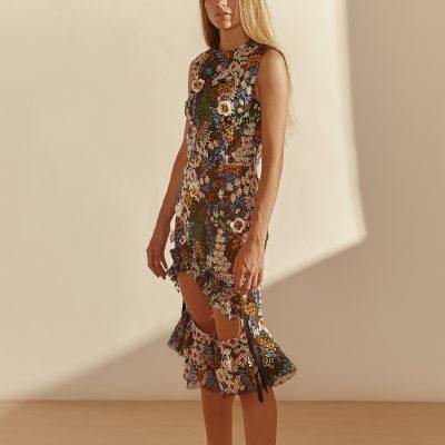 Weeping Forest Peeper Dress