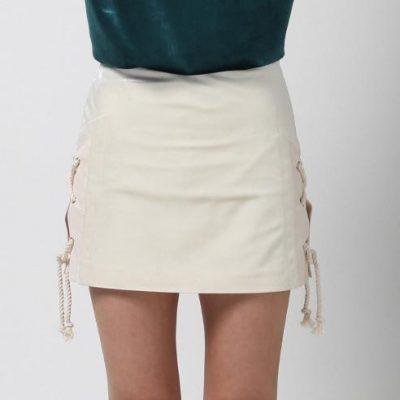 Braided Mini Skirt