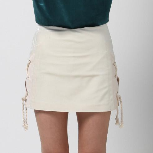Braided Mini Skirt