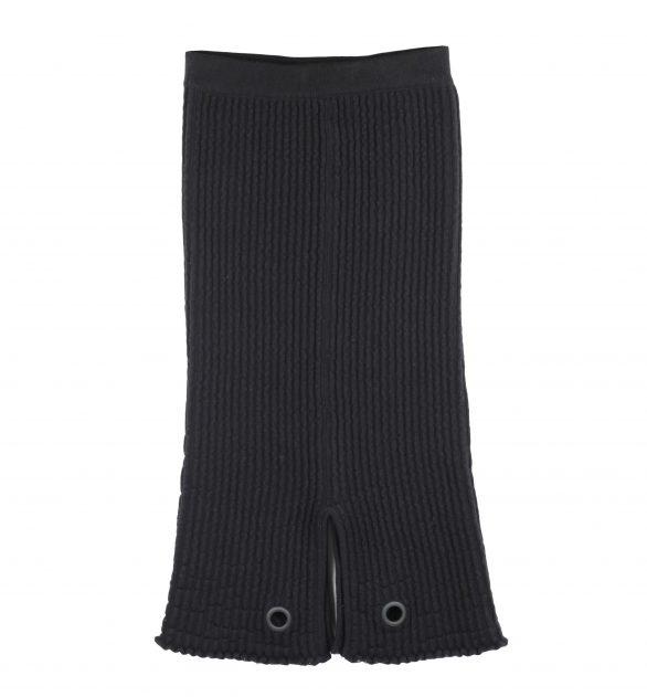 Fae Ottoman Stitch Skirt with Studs