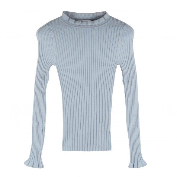 Vanessa Peplum Round Neck Pullover