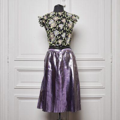 Astrantia Pleated Dress