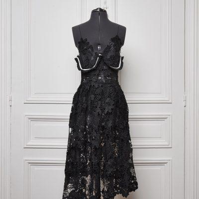 Coxcomb Spaghetti Dress