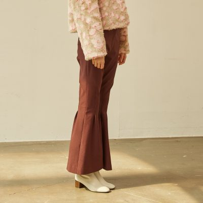 Deep Wine Bell Bottoms