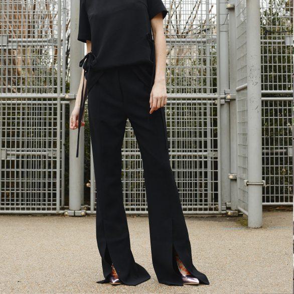 Tie Dandy Boot Trousers - Black
