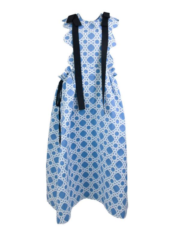 Big Bow Apron Dress