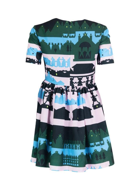 Ribbon Belt Mini Dress